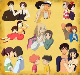 Miyazaki Couples Gift by BlueFoxJutsu
