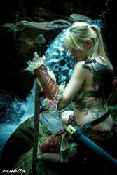 Viking Shieldmaiden by cankila