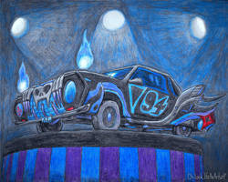AT: The Mystical Roadster by OhLookItsAnArtist