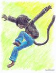 Prize: A Leap or A Pounce? by OhLookItsAnArtist