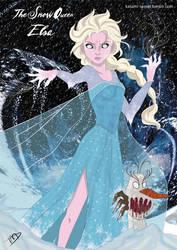 Twisted Elsa by Kasami-Sensei