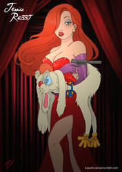 Twisted Jessica Rabbit by Kasami-Sensei