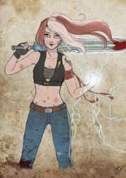 Hayley Caloway Destiny by Kasami-Sensei
