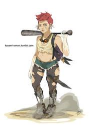 Rebel Teen by Kasami-Sensei