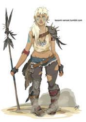 Fierce Fighter by Kasami-Sensei