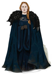Sansa Stark by Kasami-Sensei
