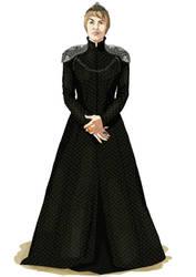 Queen Cersei Lannister by Kasami-Sensei