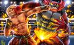 Incineroar  Ken by PhySen
