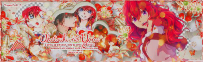 [SIGNATURE] Akatsuki no yona ~ Yona and Hak by SweetIvi