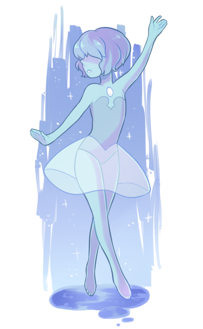 drawn in a stream i really love her my fav pearl