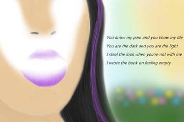 Smoking Girl by PrincessTyrrlin