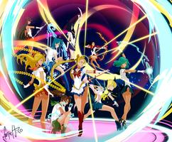 Sailor Moon Fanart by FelipeJiRo