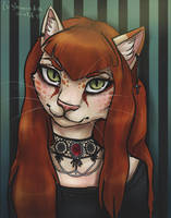 Little Gothic Pussy by Lushminda