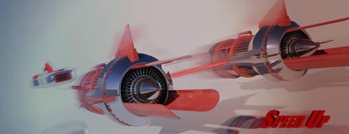 Pod Racer by HannesDreyer