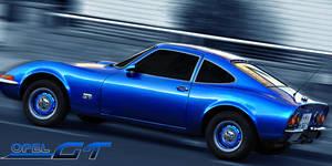 Opel GT by HannesDreyer