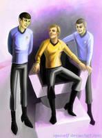 Star Trek: Enterprise bridge by spanielf