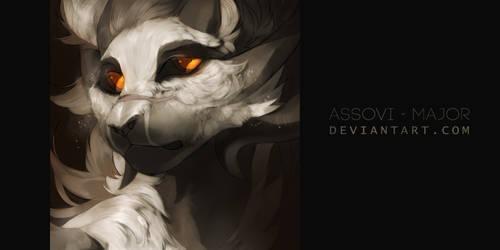 Headshot IV by Assovi-Major
