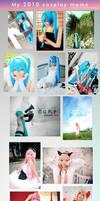 My 2010 cosplay MEME by meipikachu