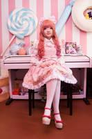 Sweet lolita - Pink girl by meipikachu