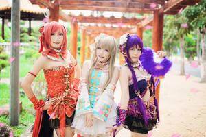 Love Live! - Kotori, Maki, Nozomi by meipikachu