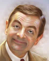 Rowan Atkinson by SoulOfDavid