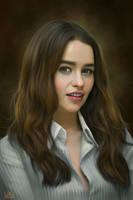 Emilia Clarke by SoulOfDavid