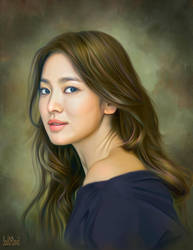 Song Hye Kyo by SoulOfDavid