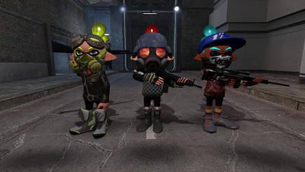 Three people team by GabuGabriel