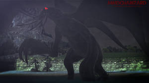 MMD - The Dark One, Cthulhu by MMDCharizard