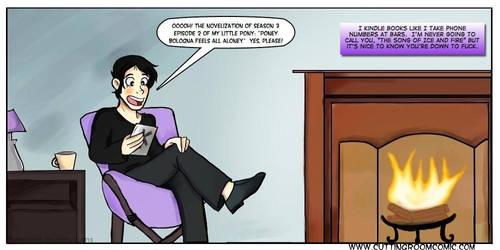 Kindle by CuttingRoom