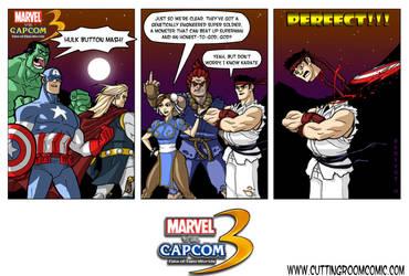 Marvel Vs. Capcom by CuttingRoom