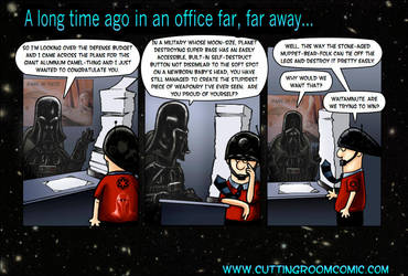 Office Wars: Episode I by CuttingRoom