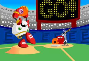Mega Man 10 - Strike Man by Rynen10K