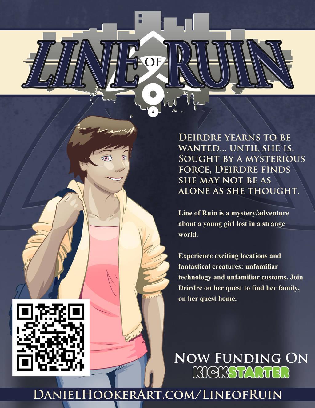 Line of Ruin : Now Funding on Kickstarter by DanielHooker