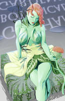 Poison Ivy redesign Colored by DanielHooker