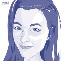 Digital Dailies - Portrait - Seraph Cosplay by DanielHooker