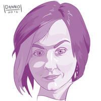Digital Dailies - Portrait - Eitanya by DanielHooker
