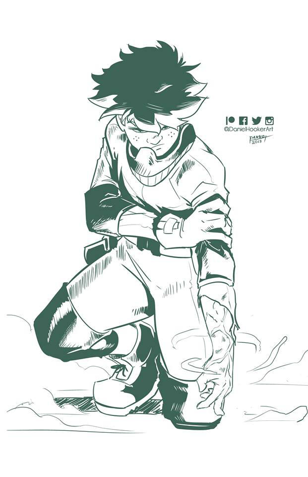 October Warmup 2018 : Deku by DanielHooker