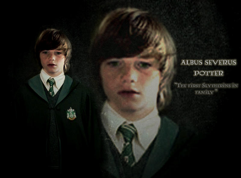 Albus Potter 'the Slytherin' ...