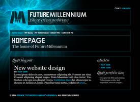 FutureMillennium Web.net 7 (2008) website by FutureMillennium