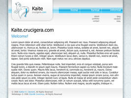 Kaite website design concept by FutureMillennium