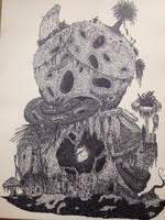 Ancient Fat Golem by Doozel