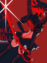 [Kill la Kill]Matoi Ryuuko by Mengluoli