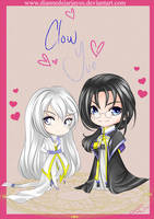 clow and yue chibi by DianneDejarjayes