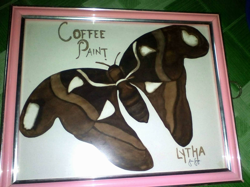 Coffee Painting by Estrelytha