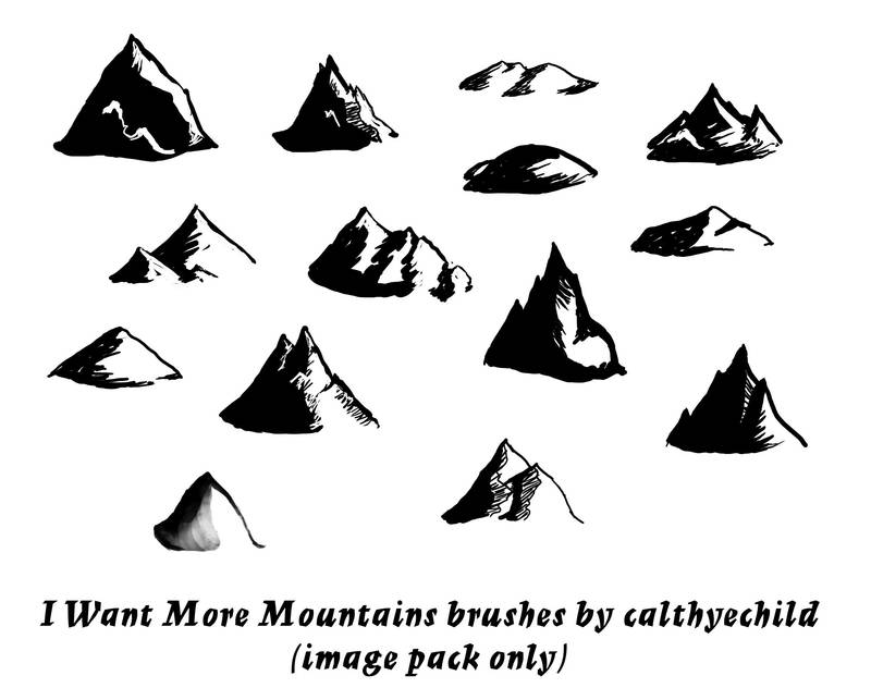 More Mountains image pack by calthyechild