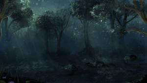 Dark Forest by calthyechild
