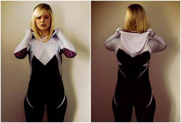 Spider-Gwen by thatsthatonegirl