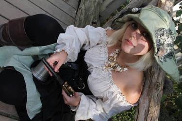 Ren Faire Mermaid Pirate 01 by thatsthatonegirl