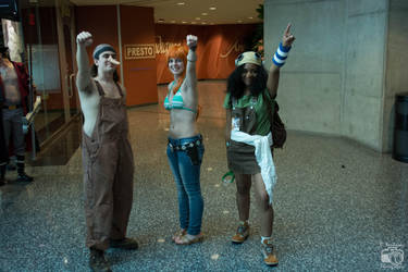 Youmacon 2015 One Piece - Usopp and Nami by thatsthatonegirl